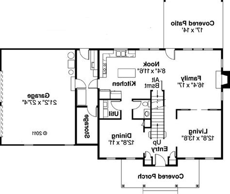 ranch floor plans with large kitchen houseplans biz house plan 2051 a the ashland loversiq
