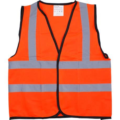 vest orange printed orange hi vis vest
