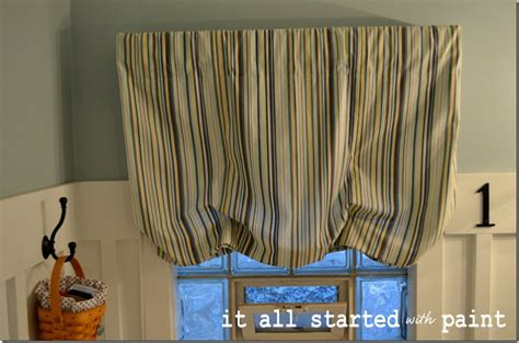 how to make a balloon shade curtain balloon shade tutorial