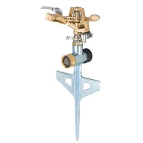 home depot sprinkler design tool melnor pulsator sprinkler with step spike 9536ch the