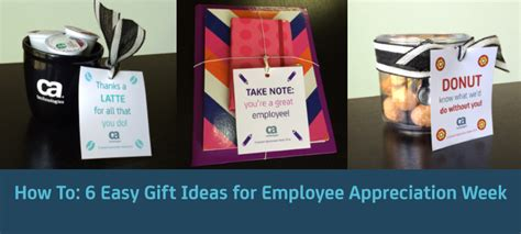 Gift Card Ideas For Employees - 6 easy gift ideas for employee appreciation