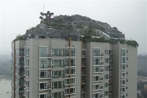 Apartment Building Roof Apartment Owner Told To Dismantle Roof Top Oasis Society