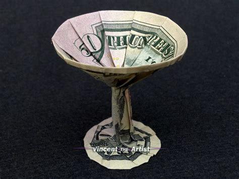 Origami Martini Glass - money origami martini glass dollar bill and 50 similar items