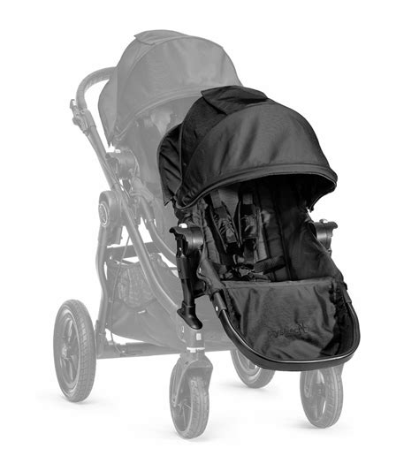 baby jogger city select second seat baby jogger city select second seat kit black