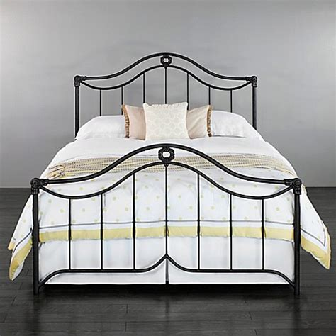bed frame bed bath and beyond wesley allen montgomery iron bed frame bed bath beyond