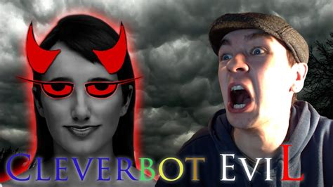 cleverbot evie cleverbot evie she knows my real name evie is evil