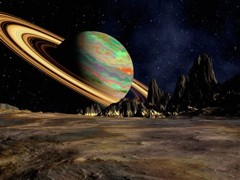 planet saturn space ring hd wallpaper