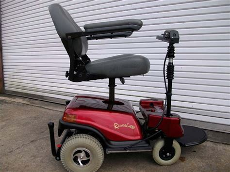 Rascal Chair by Used Electric Power Wheelchairs Rascal 600 W Seat Lift