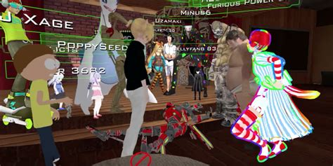 Vr Chat vrchat players stop to help fellow player a seizure