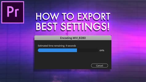 adobe premiere pro youtube 1080p how to export a video in adobe premiere pro best settings