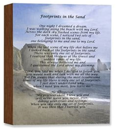 printable version footprints in the sand footprints in the sand poem footprints poem printable