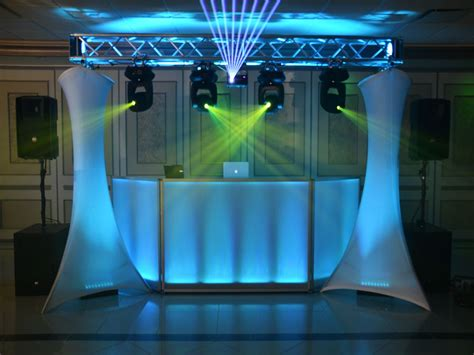 photo booth lighting setup dj facade dj facade with truss lights dj facads