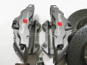 Audi R8 Ceramic Brakes Audi Rs5 R8 Va Bremsanlage Keramik Bremsscheiben