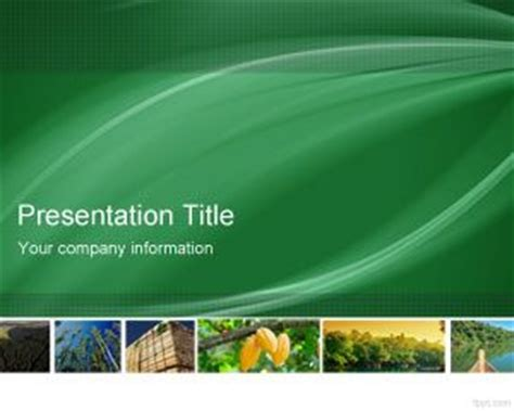 eco friendly powerpoint template