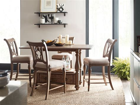 kincaid furniture dining room weatherford dining set weatherford heather tall gathering dining room set from