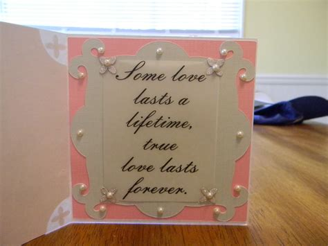 Bridal Shower Quotes For Cards by Wedding Shower Wishes Quotes Quotesgram