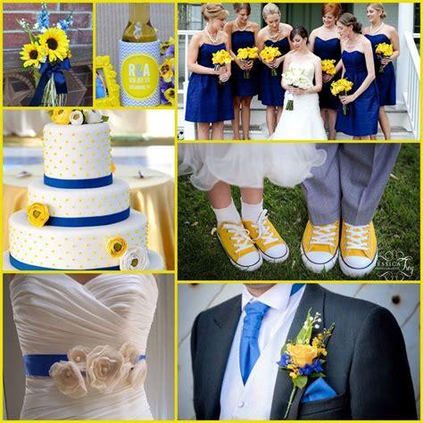 canary yellow blue wedding ideas happily after wedding koozies wedding wedding colors