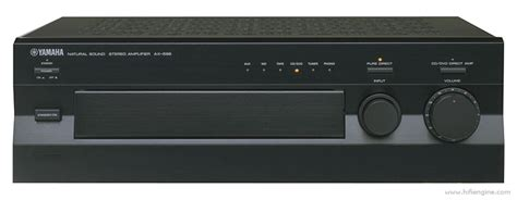 yamaha ax  manual stereo integrated amplifier
