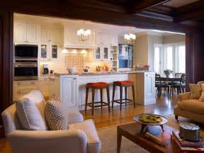 Kitchen Family Room Designs Open Concept Kitchen