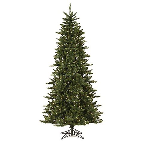 buy vickerman 8 5 foot camdon fir pre lit slim christmas