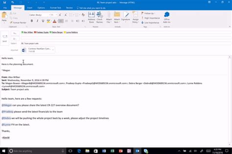 Office 365 Email Vs Outlook Update To Office 365 Eliminates The Hassle Of Large