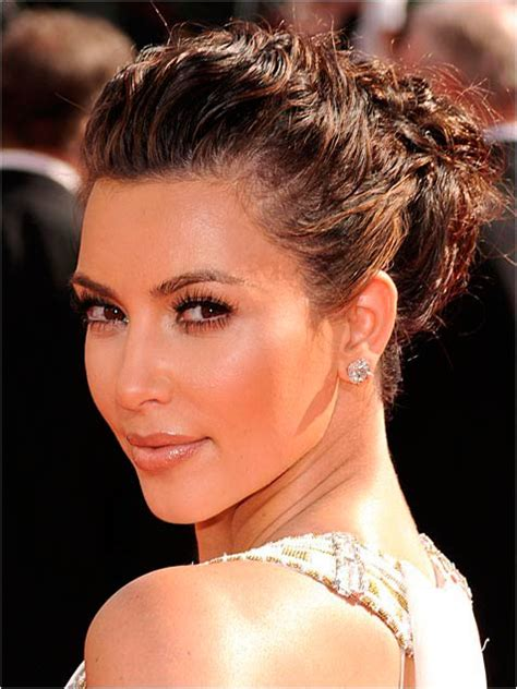 stunning  charming celebrity bun hairstyles  wow style