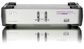 Aten Cs1742 1 aten cs1742 2 port dual view kvm switch scan co uk