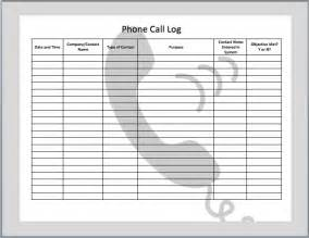 Call Template by Call Log Template Peerpex