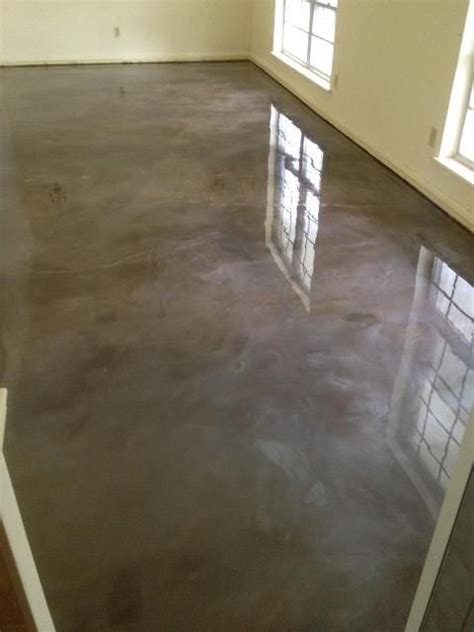 reflector epoxy floor lafayette la stained concrete
