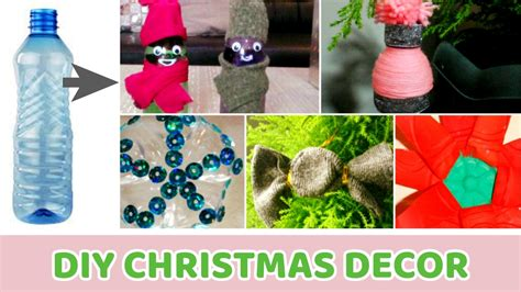 plastic bottle crafts newhairstylesformen2014com diy christmas decor out of plastic bottl on diy recycled