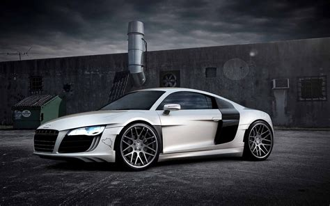 Audi R8 Widescreen Wallpaper Wallpaper WallpaperLepi