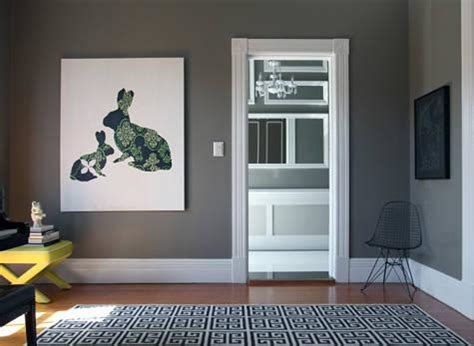 dark gray wall paint gray walls contemporary living room behr squirrel