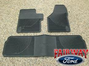 Ford F250 Floor Mats 06 07 08 09 10 Duty F250 F350 Oem Ford Rubber Floor