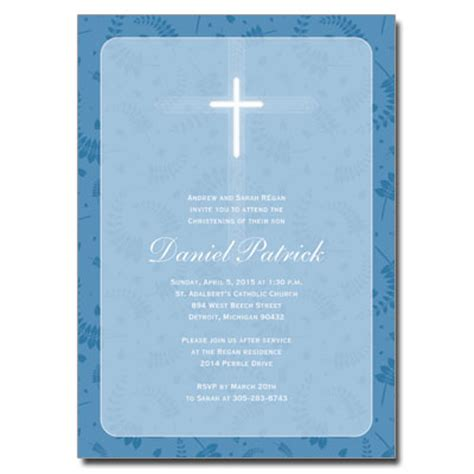 Celebrate It Occasions Place Cards Template by Blue Frame Invitation Christening Invitations