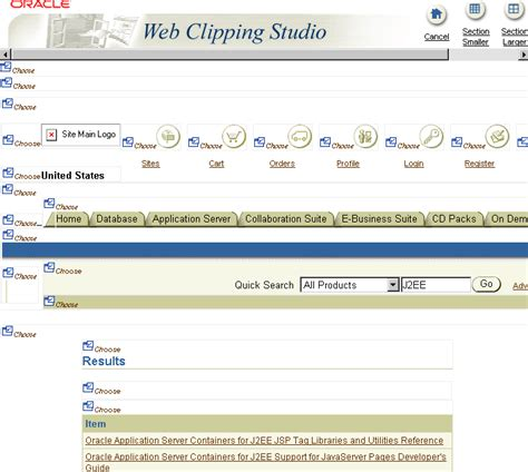 divide web page into sections web scraping