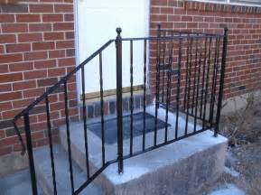 Wrought Iron Handrails For Exterior Stairs Pvblik Patio Decor Steps