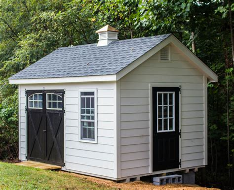 10x14 painted hardie board shed byler barns