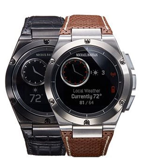 Hp Smartwatch Hp And Michael Bastian S Smartwatch Launches Nov 7th For