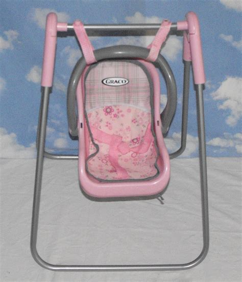 graco baby doll swing sold awaiting feedbackgraco tollytots baby doll swing and