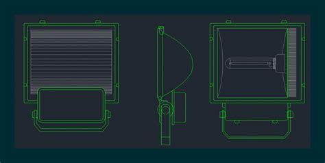 reflector  dwg block  autocad designs cad