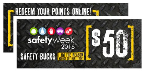 safety bucks sportex safety safety week