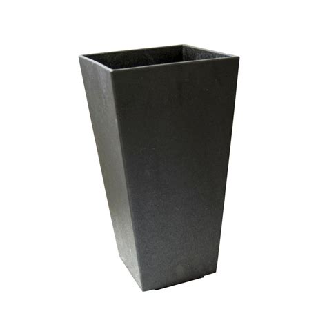 Black Planters by Garden Planters Black Home Outdoor Decoration