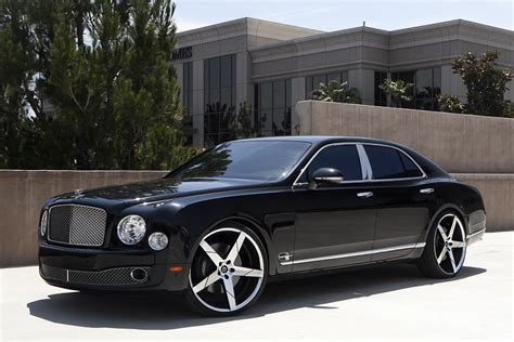custom bentley mulsanne wheels bentley mulsanne on 24 inch lexani wheels pics