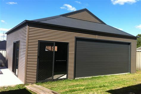 Outwest Garage by Outwest Garages Sheds Carports Garden Barns Rural House