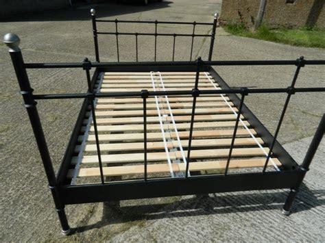 ikea metal futon frame wooden slat bed frame loccie better homes gardens ideas