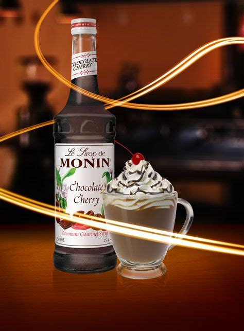cherry coffee syrup recipe monin chocolate cherry syrup cold drinks