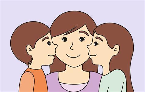 imagenes de mama con sus hijos en caricatura el mejor regalo para mam 225 club perlita