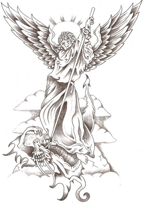 st michael 1 by thelob on deviantart