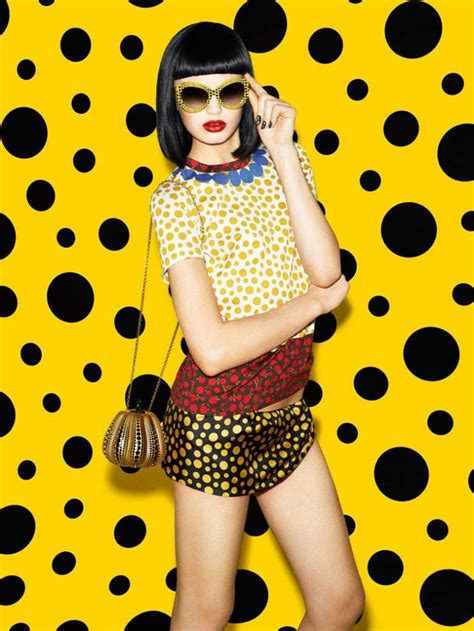 Louis Vuitton Summer Collection Polka Dots Fleurs The Bag by 14 Best Yayoi Kusama En Louis Vuitton Images On