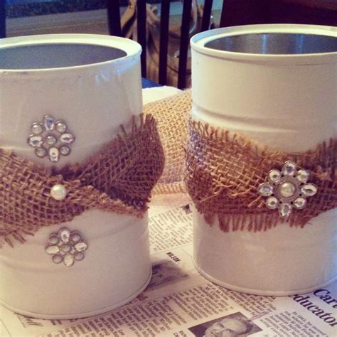 coffee can craft projects plastic coffee can crafts